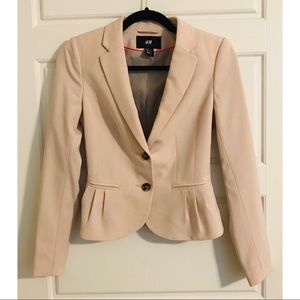Blush Pink Blazer - Perfect for the office!